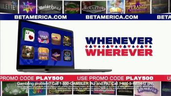Bet America TV Spot, 'Live Casino in Your Home'