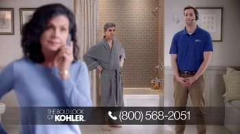 Kohler TV Spot, 'Happy to Help: Free Highline Tall Toilet With Purchase'