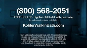 Kohler TV Spot, 'Happy to Help: Free Highline Tall Toilet With Purchase' - Thumbnail 9