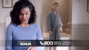Kohler TV Spot, 'Happy to Help: Free Highline Tall Toilet With Purchase' - Thumbnail 1