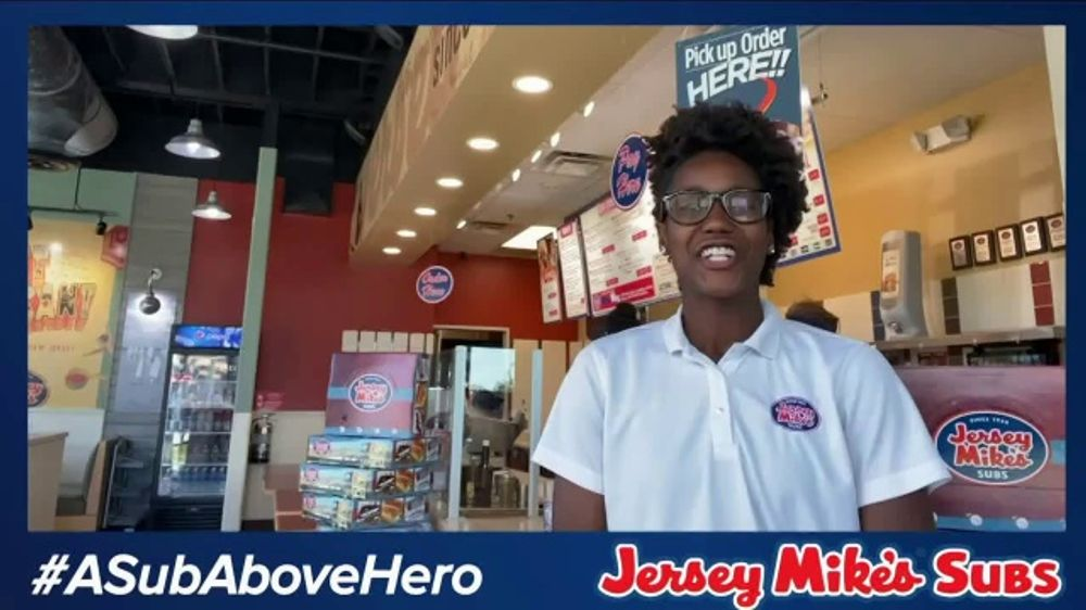 Jersey Mike's TV Commercial, 'Heroes'