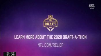 NFL Draft-A-Thon TV Spot, 'Shout Out' Feat. Jamal Adams, Sean Payton, Calais Campbell - Thumbnail 10