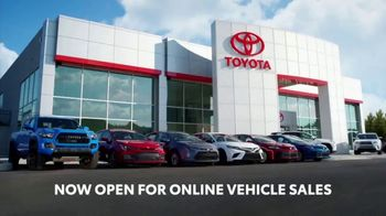 Toyota TV Spot, 'Here to Help: Now Open for Online Vehicle Sales' [T2]