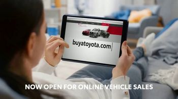 Toyota TV Spot, 'Here to Help: Now Open for Online Vehicle Sales' [T2] - Thumbnail 3