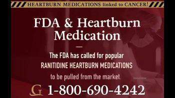 Goldwater Law Firm TV Spot, 'Heartburn Medication'