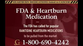 Goldwater Law Firm TV Spot, \'Heartburn Medication\'