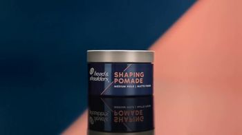 Head & Shoulders Shaping Pomade TV Spot, 'Strong on Style' - Thumbnail 3