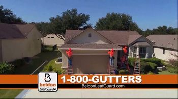 Beldon LeafGuard Spring Blowout Sale TV Spot, 'Flexible Installation Schedule and Free Leaf Blower' - Thumbnail 2