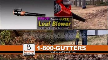 Beldon LeafGuard Spring Blowout Sale TV Spot, 'Flexible Installation Schedule and Free Leaf Blower' - Thumbnail 4