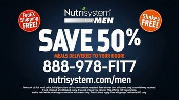 Nutrisystem for Men TV Spot, 'Time to Get Healthy: 50 Percent Off' - Thumbnail 10