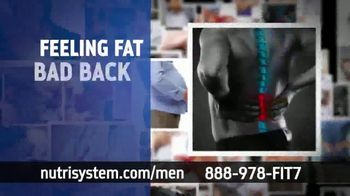 Nutrisystem for Men TV Spot, 'Time to Get Healthy: 50 Percent Off' - Thumbnail 2
