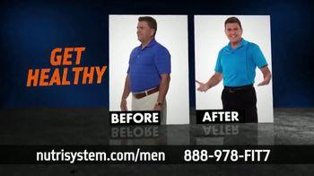 Nutrisystem for Men TV Spot, 'Time to Get Healthy: 50 Percent Off'