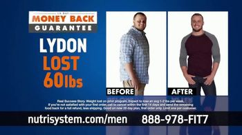 Nutrisystem for Men TV Spot, 'Time to Get Healthy: 50 Percent Off' - Thumbnail 6