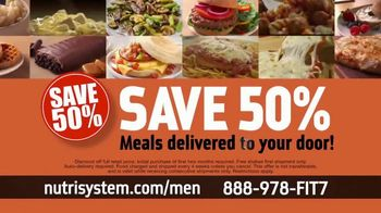 Nutrisystem for Men TV Spot, 'Time to Get Healthy: 50 Percent Off' - Thumbnail 9
