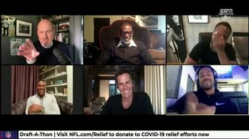 NFL Draft-A-Thon TV Spot, 'Stuck in the Car' Feat. Kevin Hart, Tom Brady, Russell Wilson - Thumbnail 6