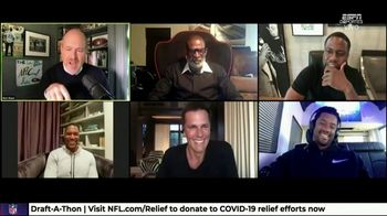 NFL Draft-A-Thon TV Spot, 'Stuck in the Car' Feat. Kevin Hart, Tom Brady, Russell Wilson - Thumbnail 9