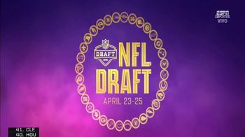 NFL Draft-A-Thon TV Spot, 'Thanks Healthcare Workers' Feat. Chad Johnson, Devin White, Travis Kelce - Thumbnail 2