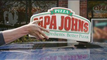 Papa John's TV Spot, 'Delivering Thanks Team' - Thumbnail 1