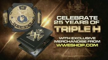 WWE Shop TV Spot, 'Energize Your Attitude: 25 Years of Triple H' Song by Easy McCoy - Thumbnail 8