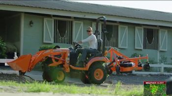 Kubota BX Series TV Spot, 'Take Advantage' - Thumbnail 3