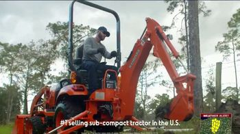 Kubota BX Series TV Spot, 'Take Advantage' - Thumbnail 6