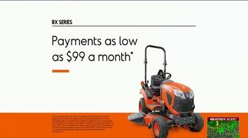 Kubota BX Series TV Spot, 'Take Advantage' - Thumbnail 8