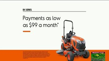 Kubota BX Series TV Spot, 'Take Advantage' - Thumbnail 9