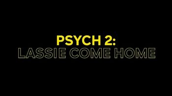 Peacock TV TV Spot, ' Psych and Psych 2: Lassie Come Home Cast Announcement' - Thumbnail 8