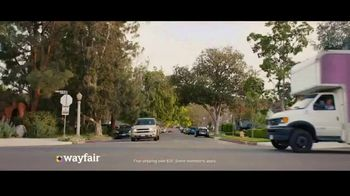 Wayfair TV Spot, 'The Shipping You Get: Even the Big Stuff' - Thumbnail 2