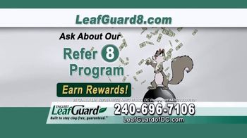 LeafGuard of DC $99 Install Sale TV Spot, 'Mother Nature Never Takes a Day Off' - Thumbnail 5