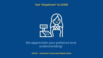 UFCW TV Spot, 'Pledge to ShopSmart During the Coronavirus Outbreak'