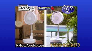 Bell + Howell My Foldaway Fan TV Spot, 'Anywhere You Need It: Free Shipping' - Thumbnail 8