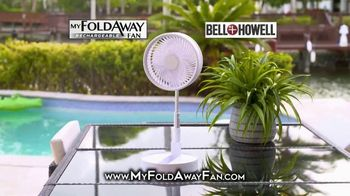 Bell + Howell My Foldaway Fan TV Spot, 'Anywhere You Need It: Free Shipping' - Thumbnail 1