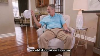 Bell + Howell My Foldaway Fan TV Spot, 'Anywhere You Need It: Free Shipping' - Thumbnail 4