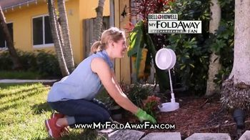 Bell + Howell My Foldaway Fan TV Spot, 'Anywhere You Need It: Free Shipping'
