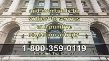 National Tax Experts TV Spot, 'COVID-19: Aggressive Resolution Plans' - Thumbnail 7