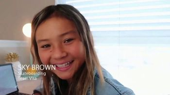 VISA TV Spot, 'Sanitize Like an Olympian' Featuring Sky Brown - 18 commercial airings