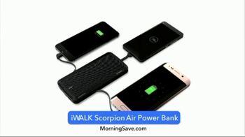 MorningSave Early Bird Bargains TV Spot, 'Power Bank, Revitalizing Serum & Umbrella' - Thumbnail 3