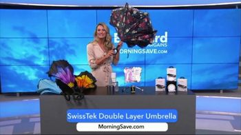 MorningSave Early Bird Bargains TV Spot, 'Power Bank, Revitalizing Serum & Umbrella' - Thumbnail 8
