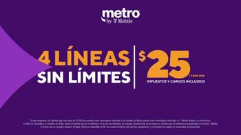 Metro by T-Mobile TV Spot, 'Muy importante: $25 dólares' [Spanish] - Thumbnail 6