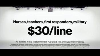 Verizon TV Spot, 'Helping Those Who Serve, Nurses, First Responders, Teachers, & Military' - Thumbnail 5