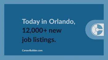 CareerBuilder.com TV Spot, 'We're Building For You' - Thumbnail 7