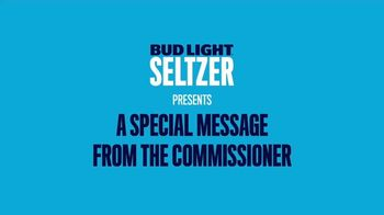 Bud Light Seltzer TV Spot, 'Keeping The Tradition' Featuring Roger Goodell - 5 commercial airings