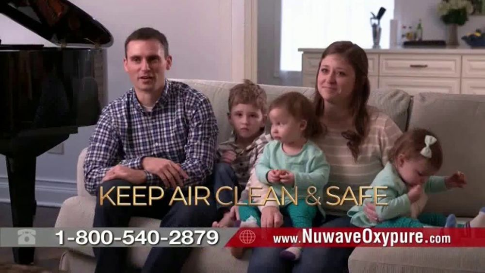 NuWave OxyPure Air Purifier TV Commercial, 'Airborne Viruses'