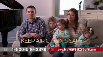 NuWave OxyPure Air Purifier TV Spot, 'Airborne Viruses'