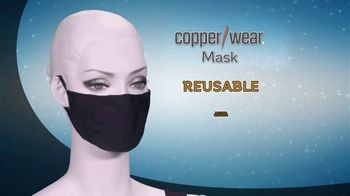 CopperWear Mask TV Spot, 'The Best News' - Thumbnail 1