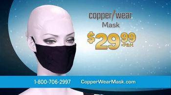 CopperWear Mask TV Spot, 'The Best News' - Thumbnail 7