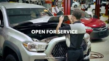 Toyota TV Spot, 'Here to Help: On the Road: Service' [T1] - 665 commercial airings