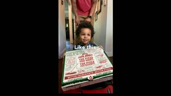 Papa John\'s TV Spot, \'Delivering Thanks Families\'