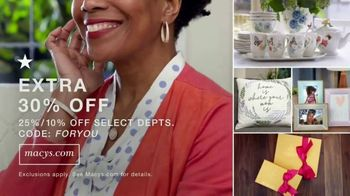 Macy's TV Spot, 'Mother's Day: The Small Things: Extended Savings' - Thumbnail 6
